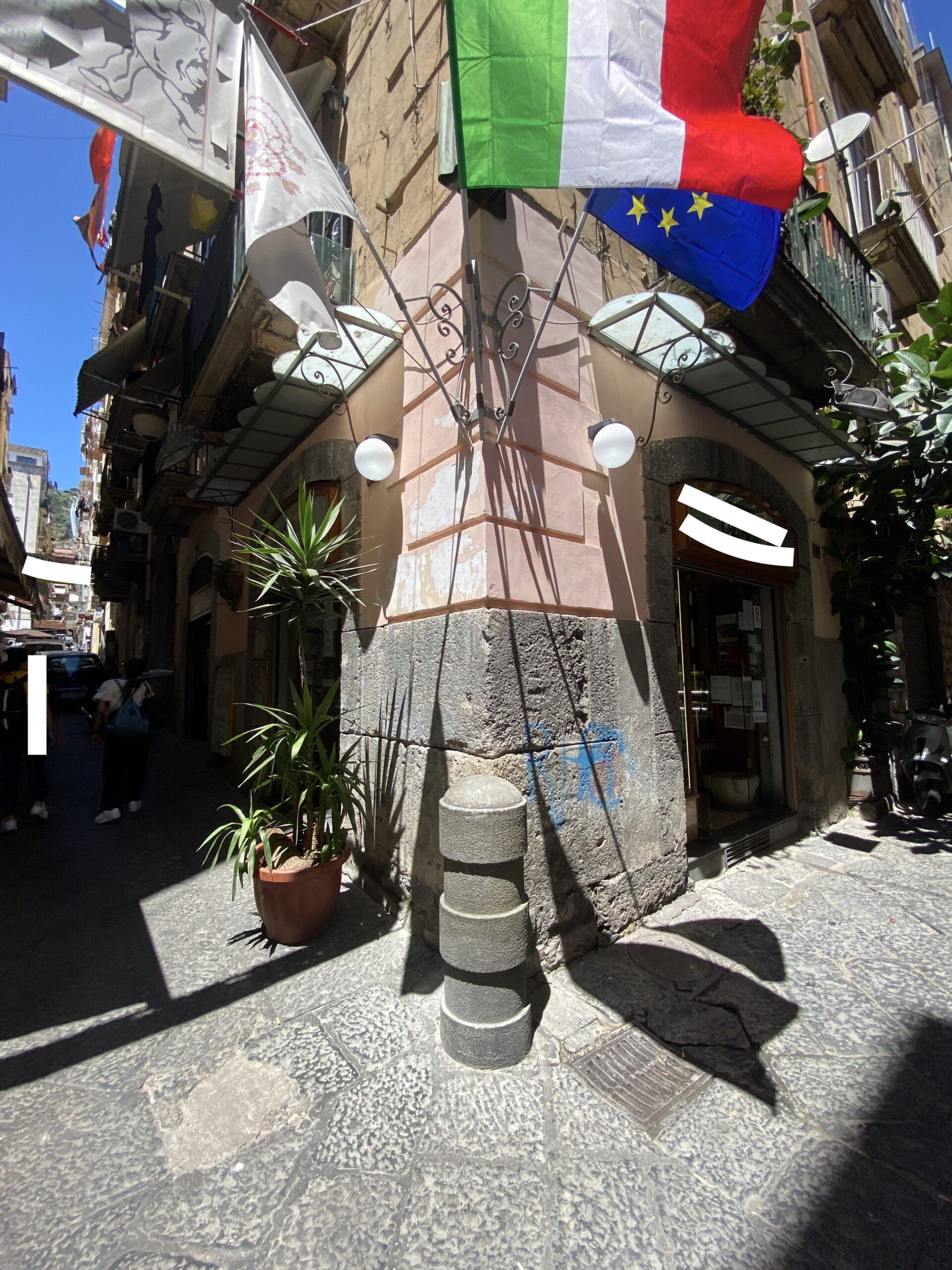 Centro storico Napoli Via Toledo adiacenze